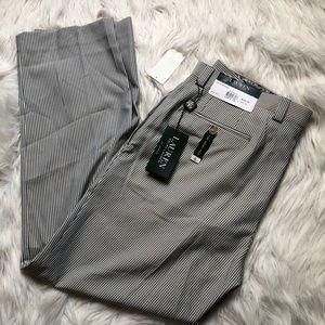 Men's Ralph Lauren Striped Flat Front Dress Pants